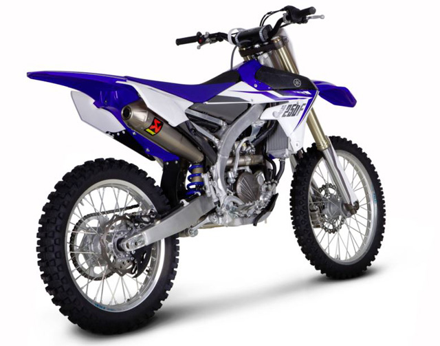 akrapovic f r yz450 motorrad news. Black Bedroom Furniture Sets. Home Design Ideas
