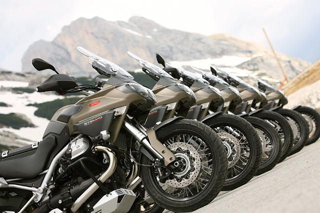 Moto Guzzi Stelvio NTX Test