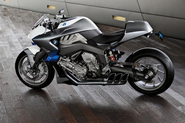 bmw motorrad concept 6 sechszylinder seite ansicht sportlich