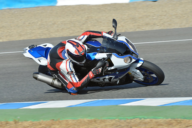 BMW HP4 Jerez Test