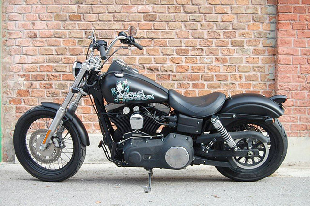 Harley Davidson Low Rider Black