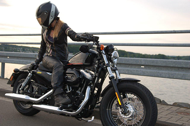 Harley Davidson Iron  Fussrasten