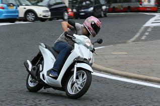 Honda SH125i Test