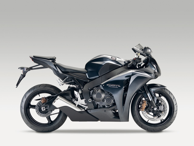 Honda CBR1000RR 2009 Achilles Black Metallic
