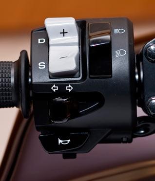 Honda DN-01 Schaltung