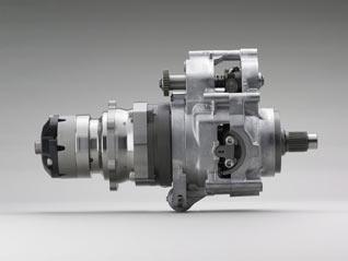 Honda DN-01 Getriebe
