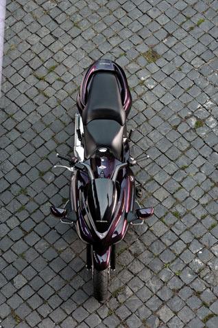 Honda DN-01 von oben