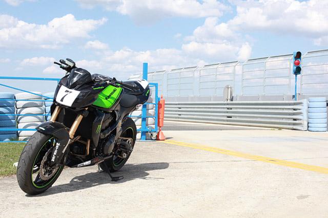 Kawasaki Z750R Umbau