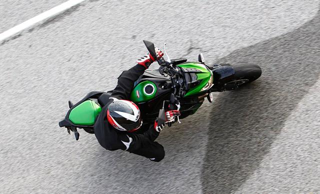 Kawasaki Z800 Test