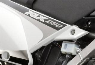 KLX 250 schwarz
