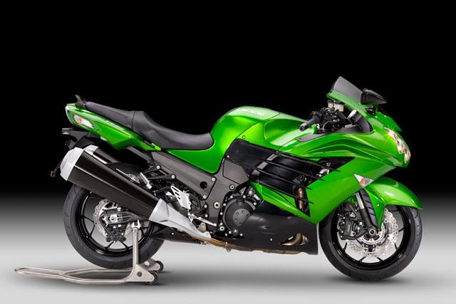 Kawasaki ZZR1400 2012 - Modellnews