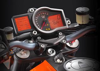 KTM 1290 Super Duke Tacho