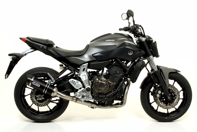 arrow yamaha mt07 motorrad news. Black Bedroom Furniture Sets. Home Design Ideas