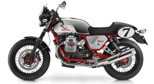 Moto Guzzi V Classic Red