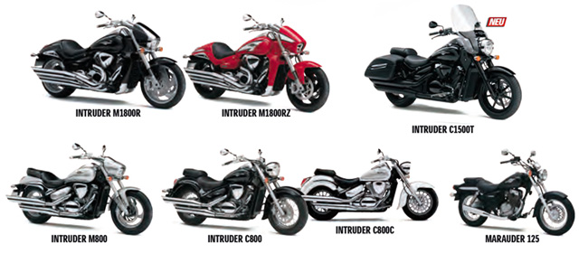 suzuki intruder center motorrad news. Black Bedroom Furniture Sets. Home Design Ideas