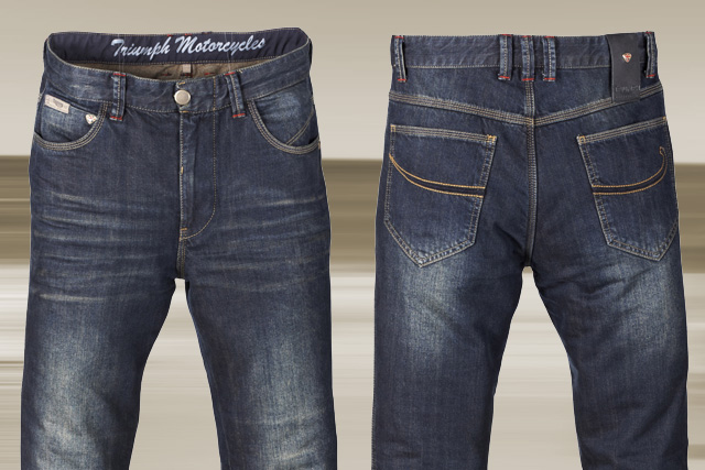 triumph denim jeans motorrad news. Black Bedroom Furniture Sets. Home Design Ideas
