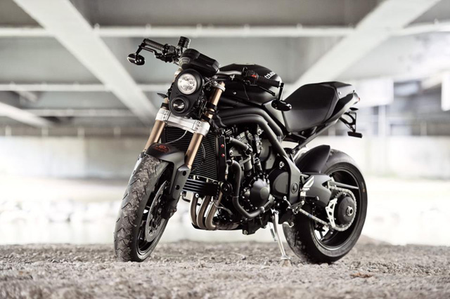 triumph speed triple stealth bike