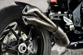 triumph street triple stealth exhaust