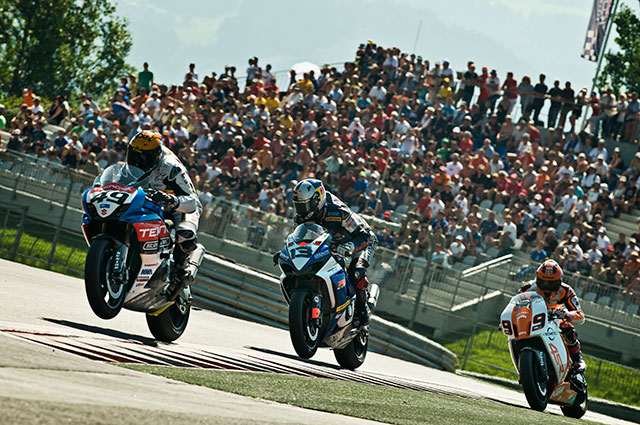 IDM Superbike vom 21. bis 23. Juni 2013 am Red Bull Ring in Spielberg.