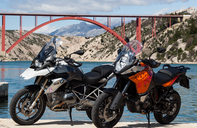 ktm 1190 adventure bmw r1200gs duell