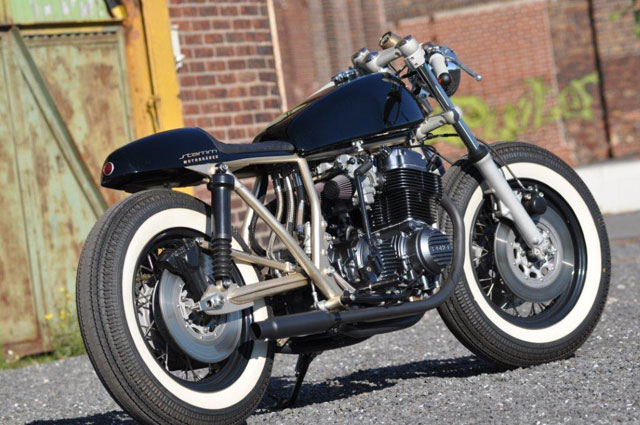CB 750 Four Umbau