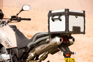 Yamaha XT 660Z Tenere Marokko box