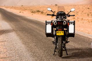 Yamaha XT 660Z Tenere Marokko zubehör