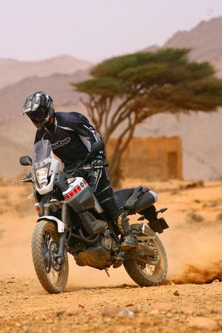 Yamaha XT 660Z Tenere - drift