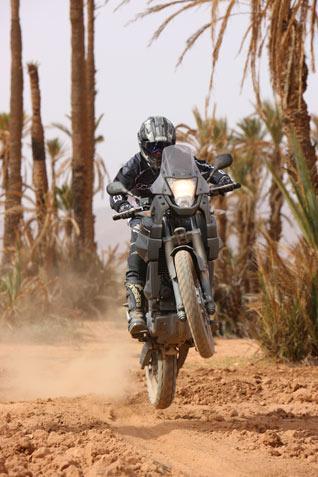 Yamaha XT 660Z Tenere - jump