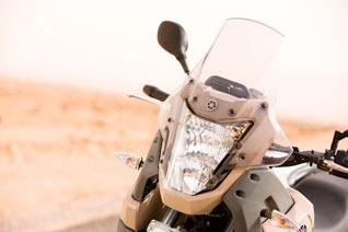 Yamaha XT 660Z Tenere Marokko Windschild