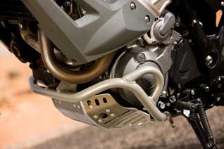 Yamaha XT 660Z Tenere Marokko Motorschutz