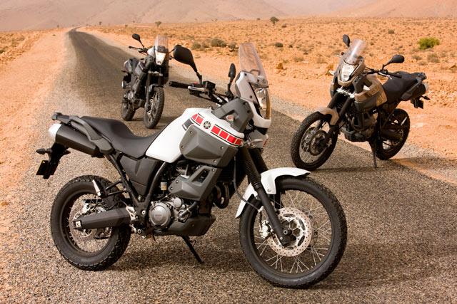 Yamaha XT 660Z Tenere Marokko