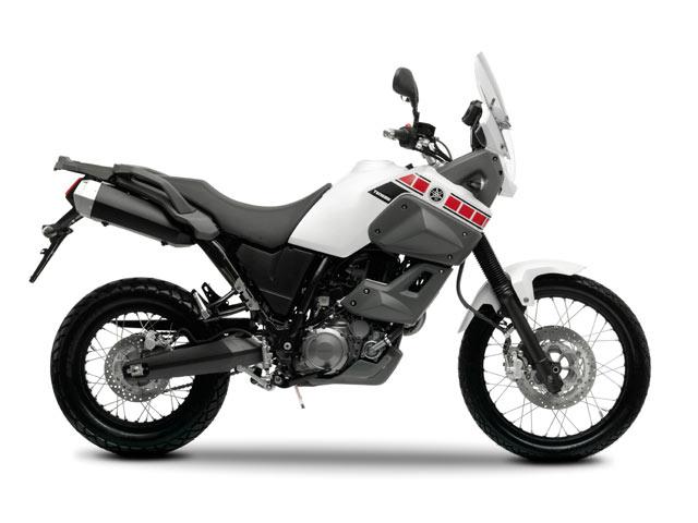 Yamaha XT 660Z Tenere Marokko white